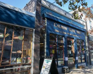Caliban Book Shop storefont